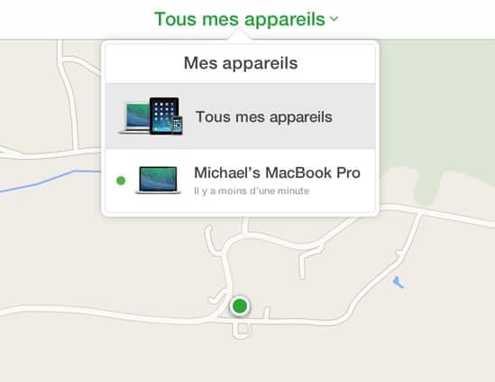 localiser portable mac