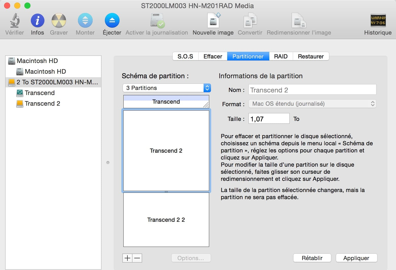 creer image disque dur mac