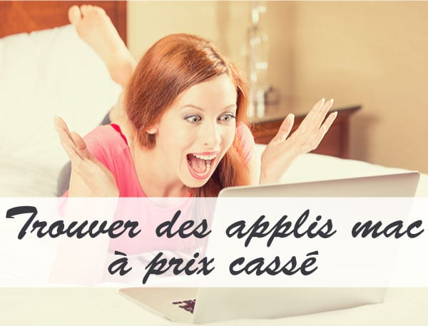 Comment trouver des applications mac en promo