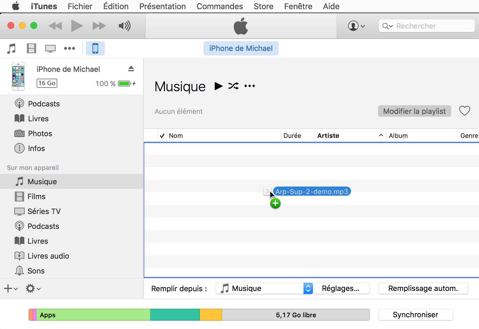 Transferer Musique Pc Vers Iphone