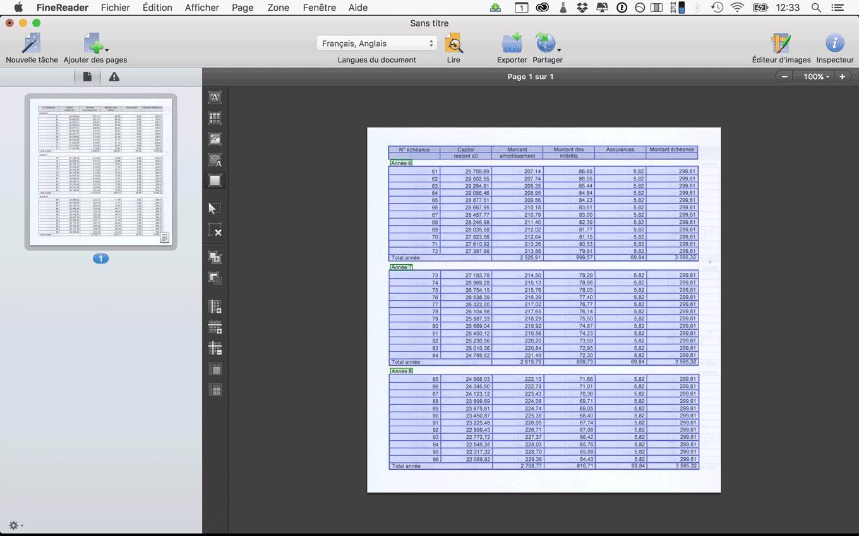 Comparatif 2016 les meilleurs ocr pour mac trucs astuces - Excel tableau d amortissement ...