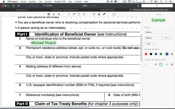 Modifier Un Pdf Texte Image Signature Annotation Et Formulaire