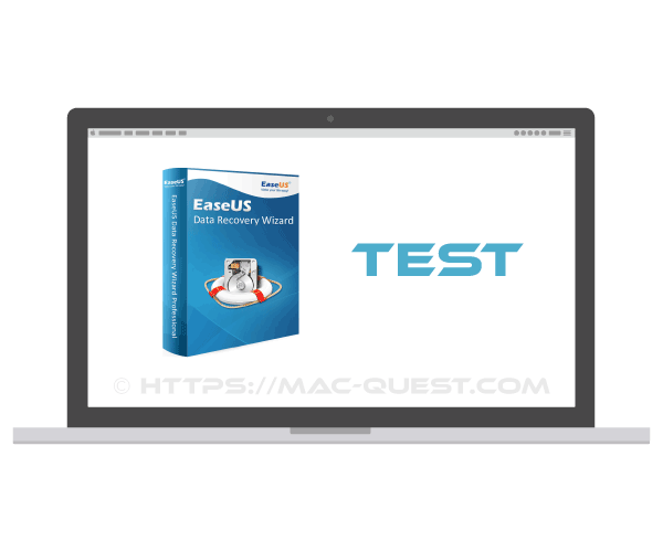 Test de EaseUS data recovery wizard