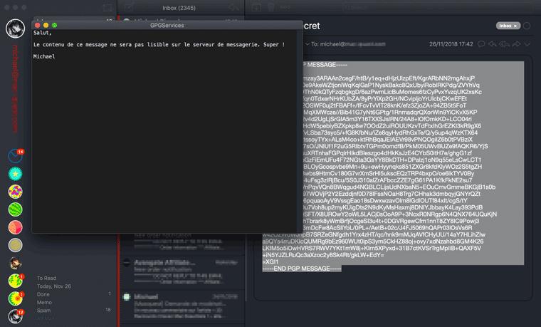 Comment chiffrer un email