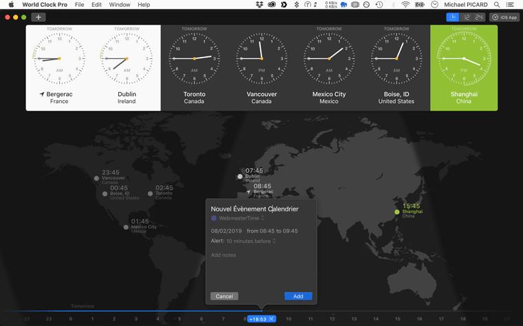 World Clock Pro: Manier les fuseaux horaires comme un Pro !