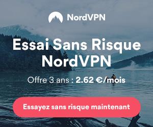 NordVPN à 2.62€